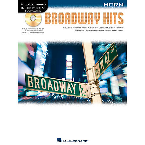 Hal Leonard Broadway Hits For Horn - Instrumental Play-Along Book/CD