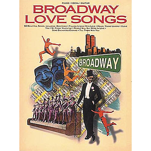 Hal Leonard Broadway Love Songs Piano, Vocal, Guitar Songbook-thumbnail