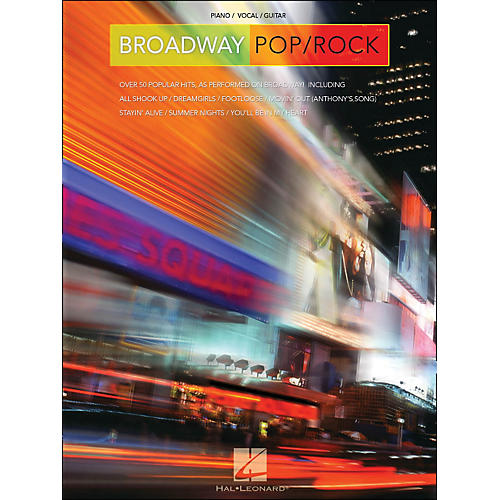 Hal Leonard Broadway Pop/Rock arranged for piano, vocal, and guitar (P/V/G)-thumbnail