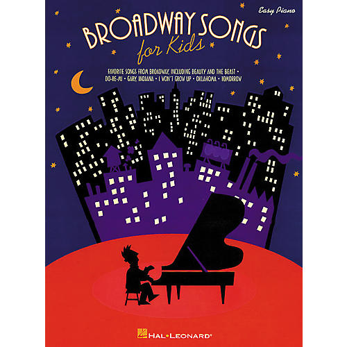 Hal Leonard Broadway Songs For Kids For Easy Piano-thumbnail