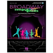 Hal Leonard Broadway Songs for Kids (Book/Online Audio)