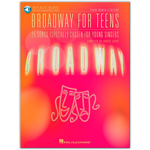 Hal Leonard Broadway for Teens - Young Women's Edition Book/CD-thumbnail