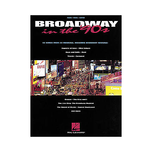 Hal Leonard Broadway in the '90s Book-thumbnail