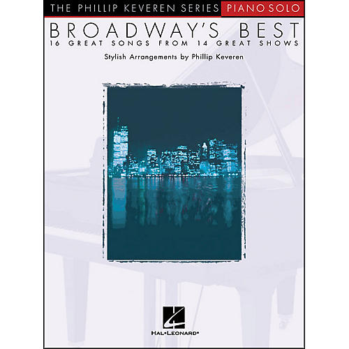 Hal Leonard Broadway's Best - Piano Solo - 16 Great Songs From 14 Great Shows-thumbnail