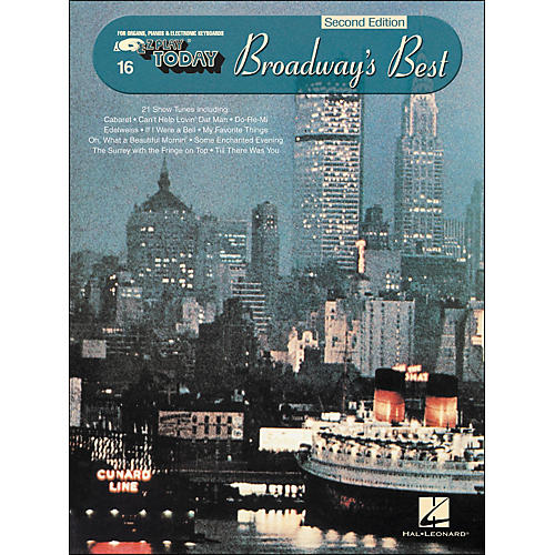 Hal Leonard Broadway's Best 2nd Edition E-Z Play 16-thumbnail