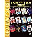 Alfred Broadway's Best Collection Easy Piano Book thumbnail