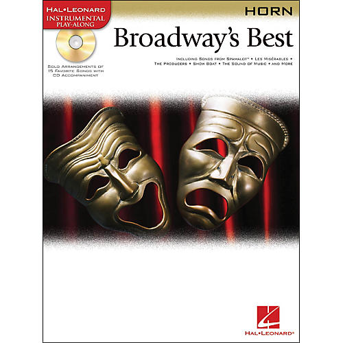 Hal Leonard Broadway's Best For Horn Book/CD