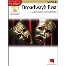 Hal Leonard Broadway's Best For Viola Book/CD