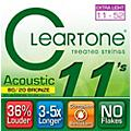 Cleartone Bronze Custom Acoustic Guitar Strings thumbnail