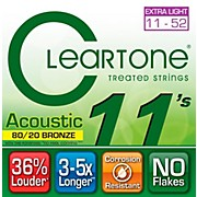 Cleartone Bronze Custom Acoustic Guitar Strings