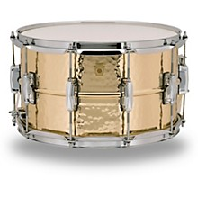 Ludwig Bronze Phonic Hammered Bronze Snare Drum, 14 x 8 in.