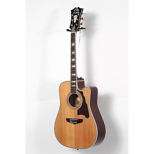 D'Angelico Brooklyn Dreadnought Cutaway Acoustic-Electric Guitar-thumbnail