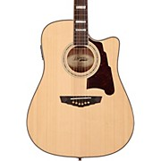 D'Angelico Brooklyn Dreadnought Cutaway Acoustic-Electric Guitar