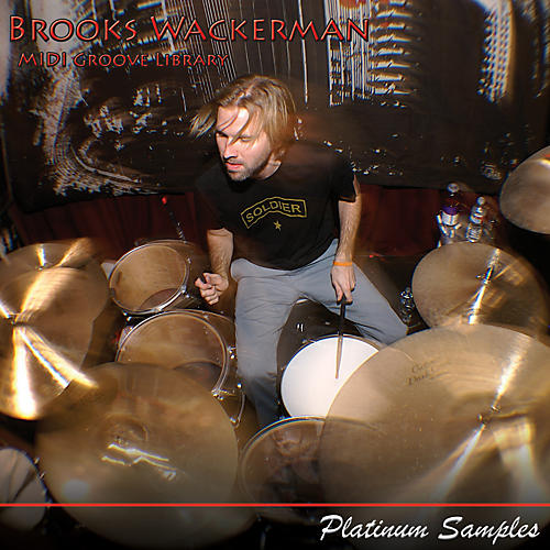 Platinum Samples Brooks Wackerman Songs & Grooves MIDI Multi-Format Grooves Library