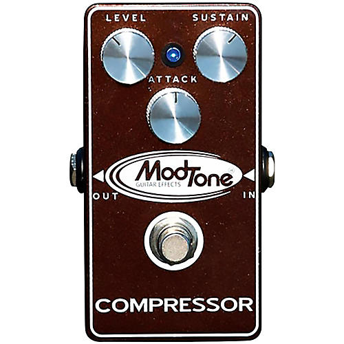 Modtone Brown Crush Compressor Guitar Pedal-thumbnail