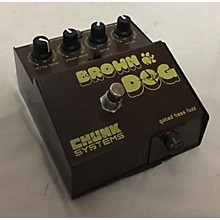 Chunk Systems Brown Dog Gated Fuzz Bass Effect Pedal