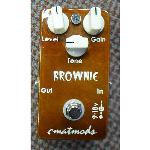 CMAT Mods Brownie Effect Pedal-thumbnail