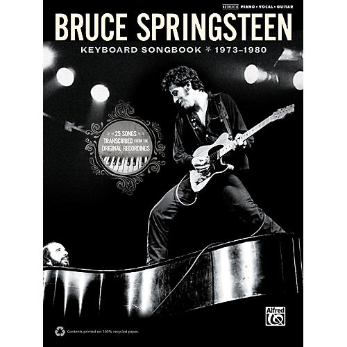 Alfred Bruce Springsteen - Keyboard Songbook 1973-1980-thumbnail