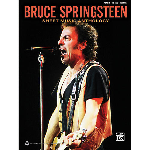 Alfred Bruce Springsteen - Sheet Music Anthology Book-thumbnail