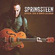 Browntrout Publishing Bruce Springsteen 2016 Calendar Square 12 x 12 In.