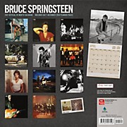 Browntrout Publishing Bruce Springsteen 2017 Live Nation Calendar