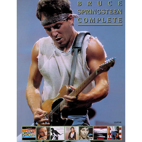 Alfred Bruce Springsteen Complete Guitar/Vocal/ Chords-thumbnail