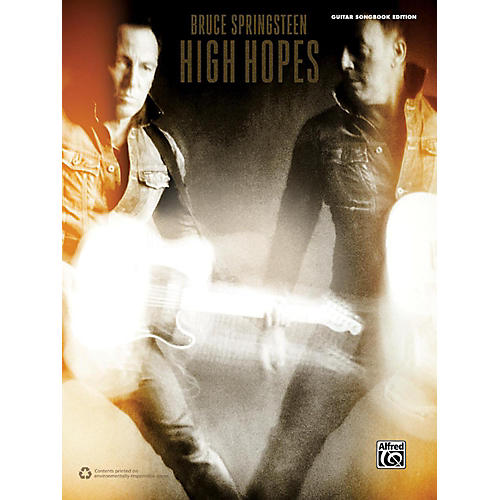 Alfred Bruce Springsteen High Hopes Guitar Songbook Edition-thumbnail