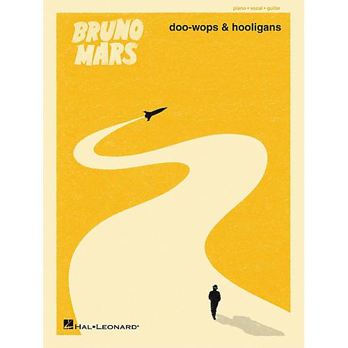 Hal Leonard Bruno Mars - Doo-Wops And Hooligans PVG Songbook-thumbnail