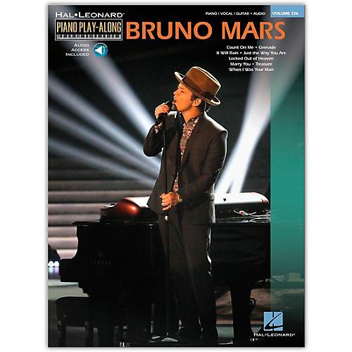 Hal Leonard Bruno Mars - Piano Play-Along Volume 126 Book/Online Audio-thumbnail