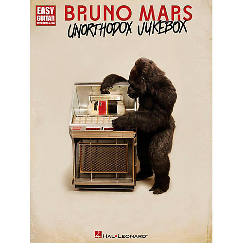 Hal Leonard Bruno Mars Unorthodox Jukebox for Easy Guitar Tab-thumbnail
