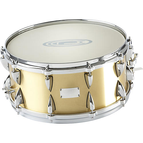 Orange County Drum & Percussion Brushed Bell Brass Snare Drum