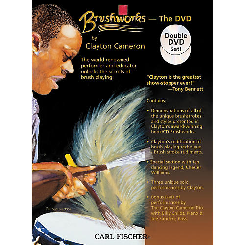 Carl Fischer Brushworks the DVD by Clayton Cameron-thumbnail