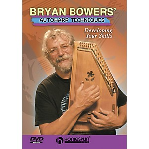 Homespun Bryan Bowers' Autoharp Techniques DVD/Instructional/Folk Instrmt S... by Homespun