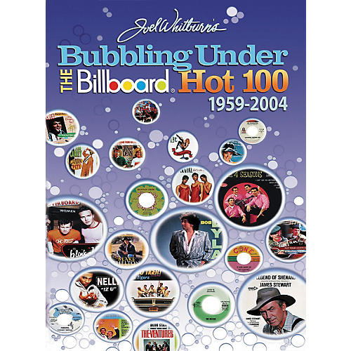 Hal Leonard Bubbling Under the Billboard Hot 100: 1959-2004 Book