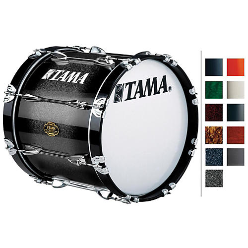 Tama Marching Bubinga/ Birch Bass Drum Dark Stardust Fade 14x20