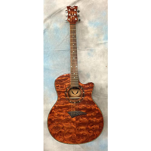 Dean Bubinga Exotica Acoustic Electric Guitar-thumbnail