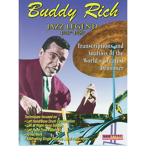 Alfred Buddy Rich Jazz Legend Book