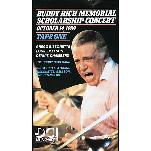 Alfred Buddy Rich Memorial Scholarship Concert, Tape 1 (Video)-thumbnail