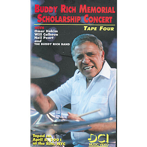 Alfred Buddy Rich Memorial Scholarship Concert, Tape 4 (Video)