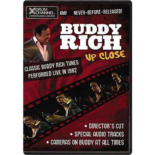 The Drum Channel Buddy Rich: Up Close (DVD)-thumbnail