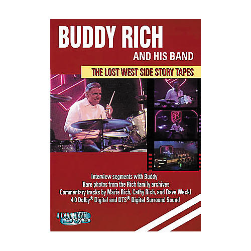 Hal Leonard Buddy Rich and His Band - The Lost West Side Story Tapes (DVD)-thumbnail