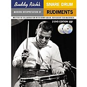 Music Sales Buddy Rich's Modern Interpretation Of Snare Drum Rudiments 2-DVD Edition
