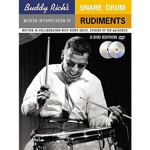 Music Sales Buddy Rich's Modern Interpretation Of Snare Drum Rudiments 2-DVD Edition