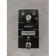 Empress Effects Buffer+ Analog I/O Interface With Switchable Boost Guitar Pedal