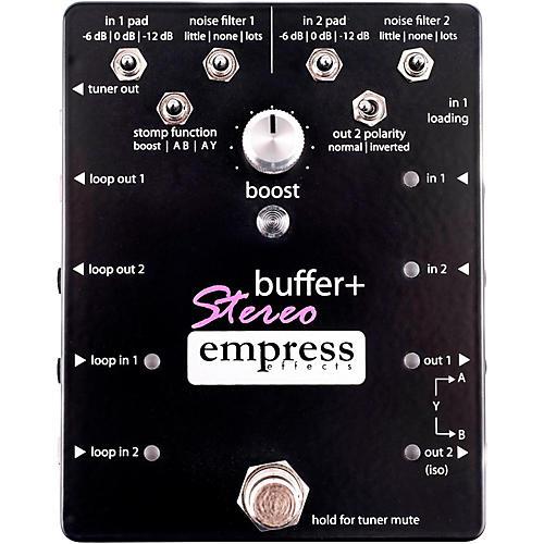 Empress Effects Buffer+ Stereo Guitar Effects Pedal