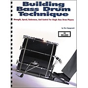 Modern Drummer Building Bass Drum Technique Book/CD