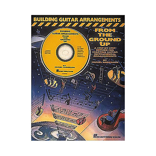 Hal Leonard Building Guitar Arrangements From The Ground Up (Book/CD)-thumbnail