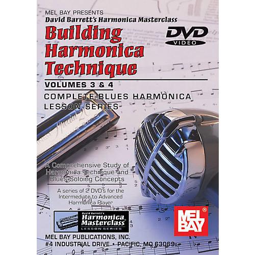 Mel Bay Building Harmonica Technique Volumes 3 & 4 DVD