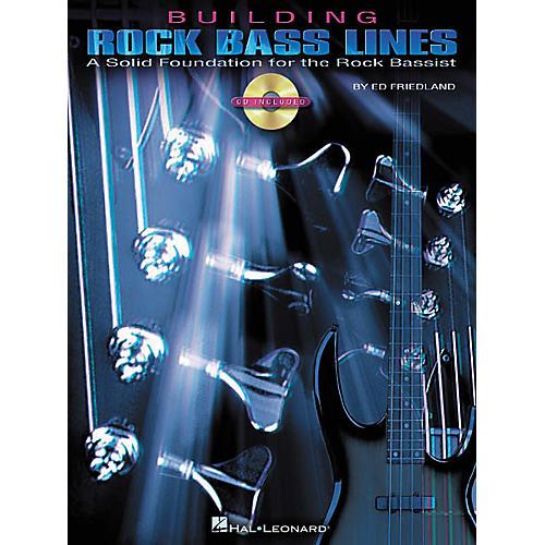 Hal Leonard Building Rock Bass Lines (Book/CD)-thumbnail