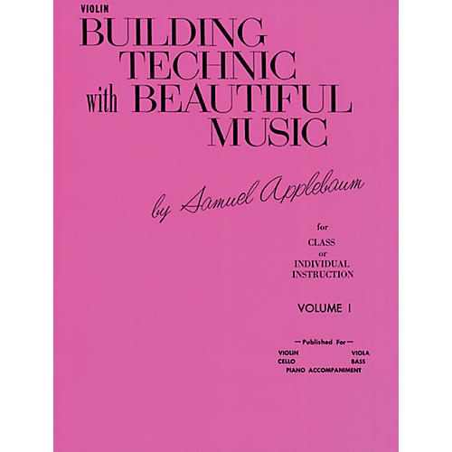 Alfred Building Technic with Beautiful Music Book I Violin-thumbnail